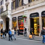 Покупки в Риме